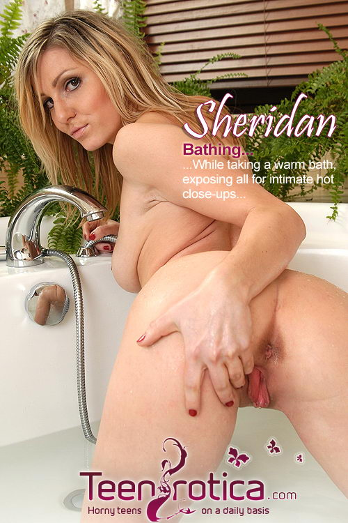 Sheridan - `Bathing` - by Patrik Ryan for TEENROTICA