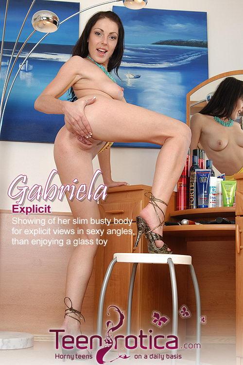 Gabriela - `Explicit` - by Patrik Ryan for TEENROTICA