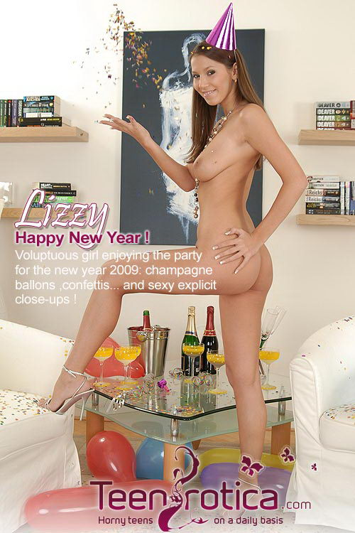 Lizzy - `Happy New Year!` - by Patrik Ryan for TEENROTICA