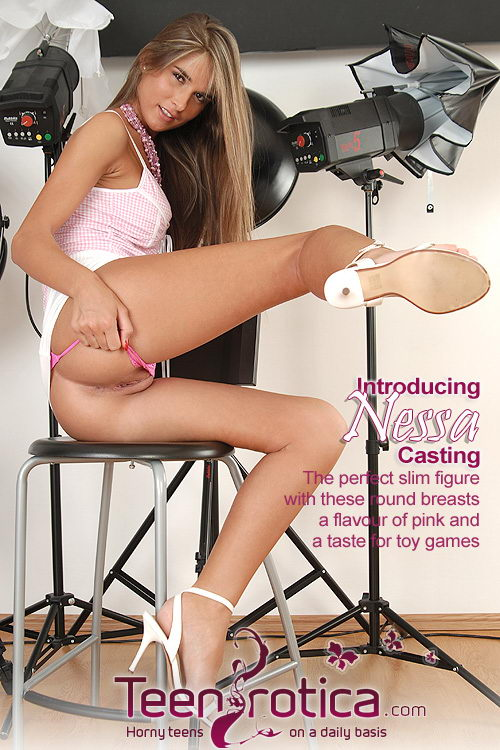 Nessa - `Casting` - by Patrik Ryan for TEENROTICA