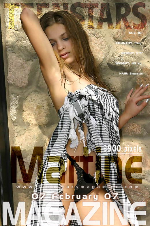 Martine - for TEENSTARSMAG