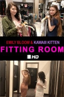 Emily Bloom & Kawaiii Kitten in Fitting Room video from THEEMILYBLOOM