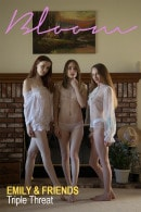Emily Bloom & Mary Angel & Devin in Triple Threat gallery from THEEMILYBLOOM