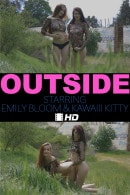 Emily Bloom & Kawaiii Kitty in Outside video from THEEMILYBLOOM