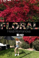 Heidi Romanova in Floral video from THEEMILYBLOOM