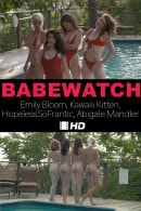 Emily Bloom & Kawaiii Kitten & HopelessSoFrantic & Abigale Mandler in Babewatch video from THEEMILYBLOOM