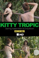 Emily Bloom & Kawaiii Kitten in Kitty Tropic video from THEEMILYBLOOM