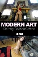 Deanna Greene in Modern Art video from THEEMILYBLOOM
