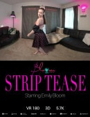 Emily Bloom in 3D Strip Tease gallery from THEEMILYBLOOM