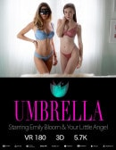 Emily Bloom & Your Little Angel in Umbrella gallery from THEEMILYBLOOM