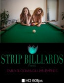 Emily Bloom & Gillian Barnes in Strip Billiards Part 2 video from THEEMILYBLOOM