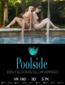 Emily Bloom & Gillian Barnes in Poolside gallery from THEEMILYBLOOM