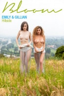 Emily Bloom & Gillian Barnes in Hillside gallery from THEEMILYBLOOM