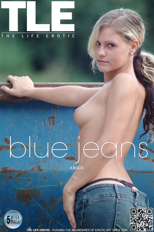 Angie - `Blue Jeans` - by Antonio Belarus for THELIFEEROTIC