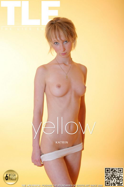 Katrin - `Yellow` - by Ales Edler for THELIFEEROTIC