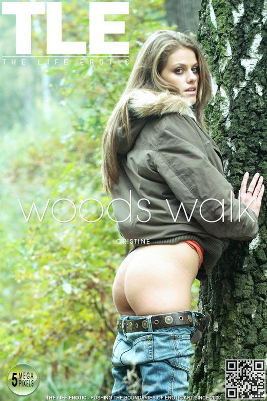 Christine - `Woods Walk` - by Ales Edler for THELIFEEROTIC