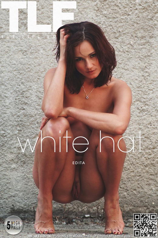 Edita - `White Hat` - by Muriel Anderson for THELIFEEROTIC