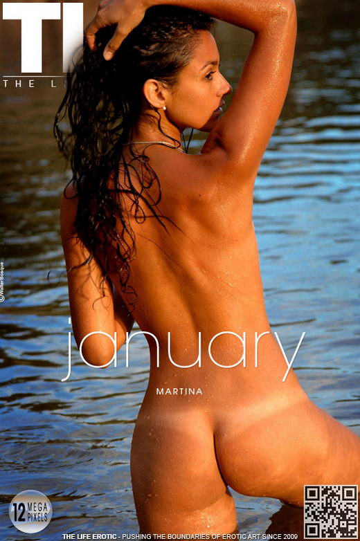 Martina - `January` - by Oliver Nation for THELIFEEROTIC