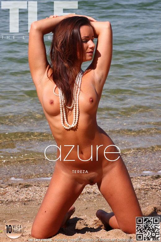 Tereza - `Azure` - by Richard Menzi for THELIFEEROTIC