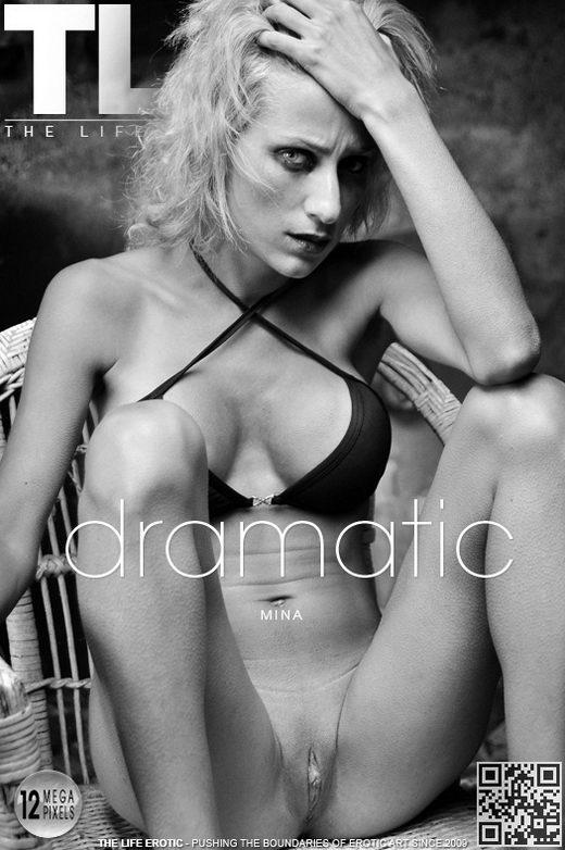 Mina - `Dramatic` - by Oliver Nation for THELIFEEROTIC