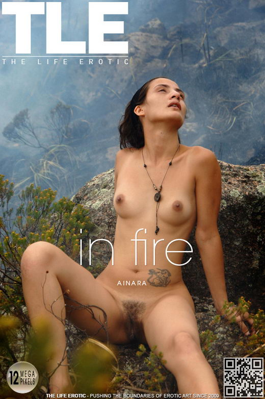 Ainara - `In A Fire` - by Oliver Nation for THELIFEEROTIC