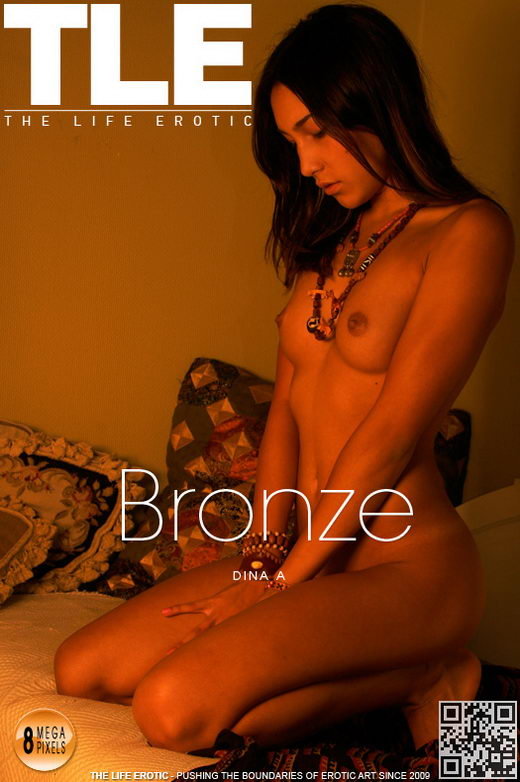 Dina A - `Bronze` - by Philip Russo for THELIFEEROTIC