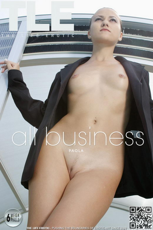 Paola - `All Business` - by Ales Edler for THELIFEEROTIC