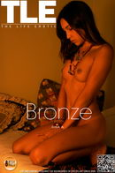 Dina A in Bronze gallery from THELIFEEROTIC by Philip Russo