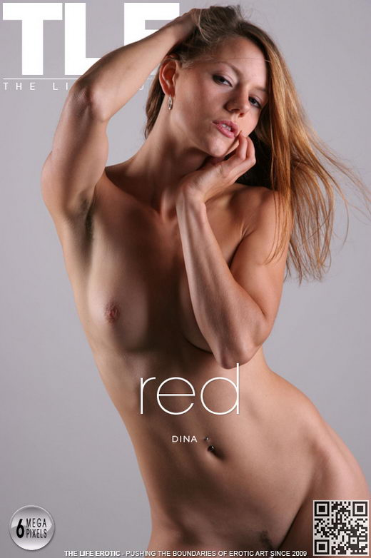 Dina - `Red` - by Philip Russo for THELIFEEROTIC