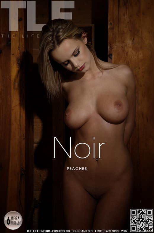 Peaches - `Noir` - by Toni Nichols for THELIFEEROTIC