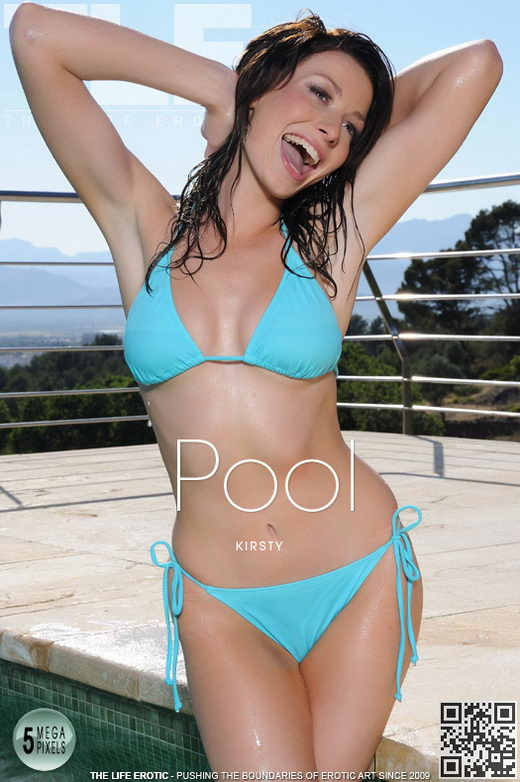 Kirsty - `Pool` - by Richard Menzi for THELIFEEROTIC