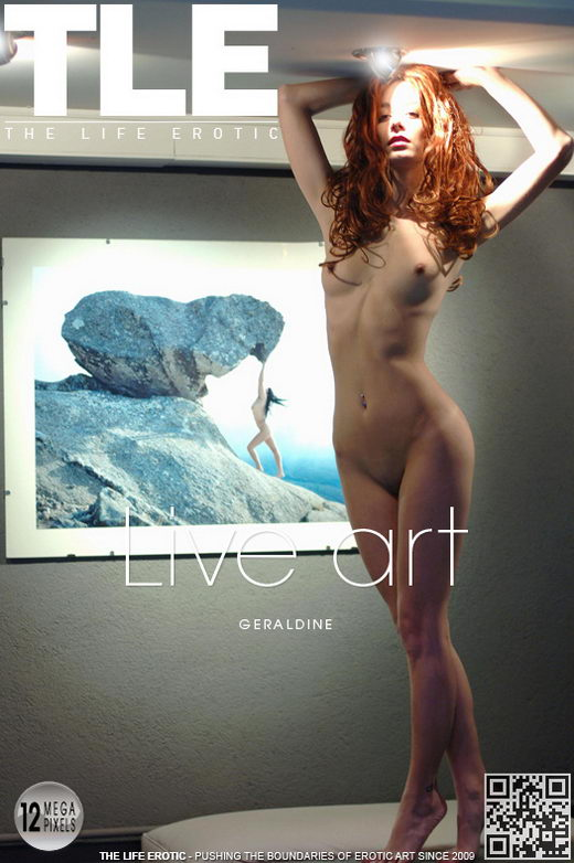 Geraldine - `Live Art` - by Oliver Nation for THELIFEEROTIC