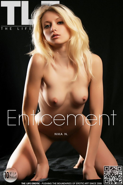 Nika N - `Enticement` - by Natasha Schon for THELIFEEROTIC