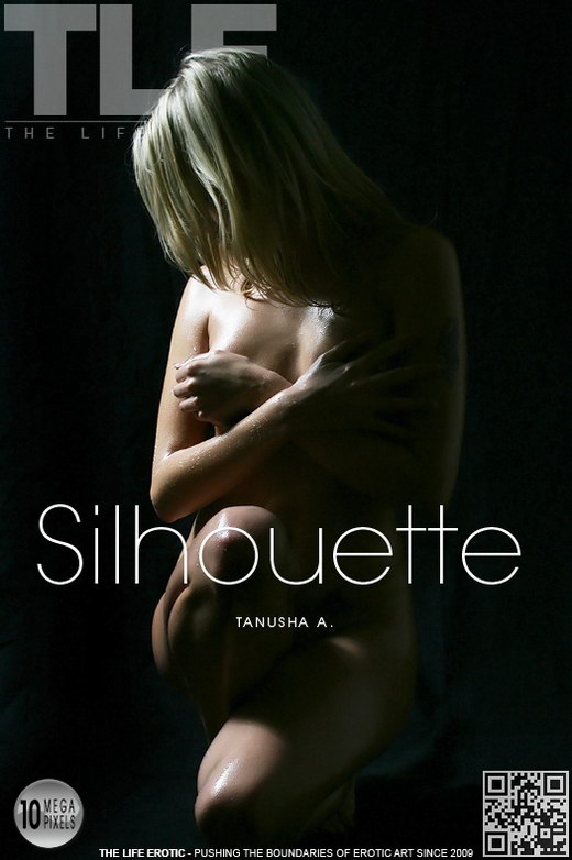 Tanusha A - `Silhouette` - by Natasha Schon for THELIFEEROTIC