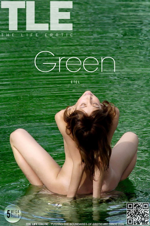 Etel - `Green` - by Oliver Nation for THELIFEEROTIC