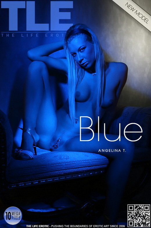 Angelina T - `Blue` - by Steve Blue for THELIFEEROTIC