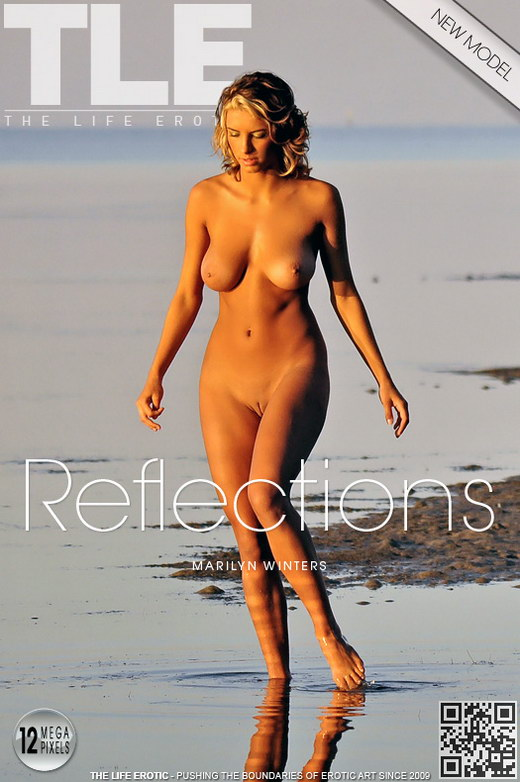 Marilyn Winters - `Reflections` - by Jon Barry for THELIFEEROTIC
