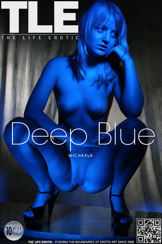 Michaela - `Deep Blue` - by Steve Blue for THELIFEEROTIC