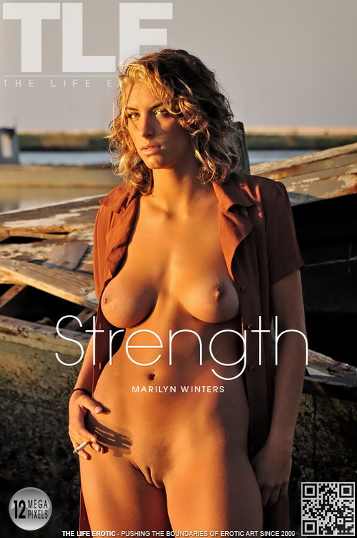 Marilyn Winters - `Strength` - by Jon Barry for THELIFEEROTIC