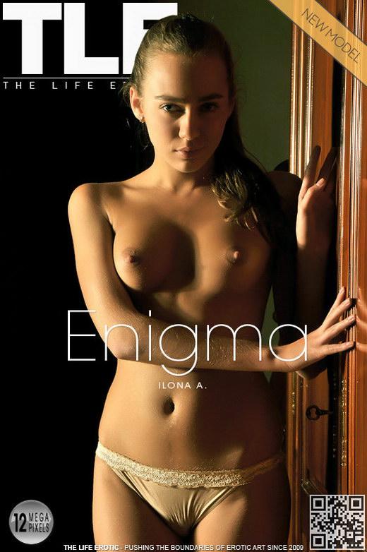 Ilona A - `Enigma` - by Natasha Schon for THELIFEEROTIC