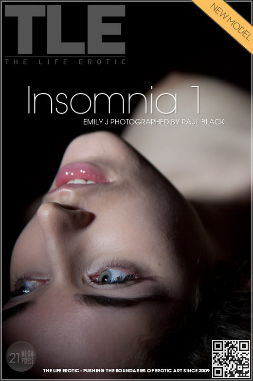 Emily J - `Insomnia 1` - by Paul Black for THELIFEEROTIC