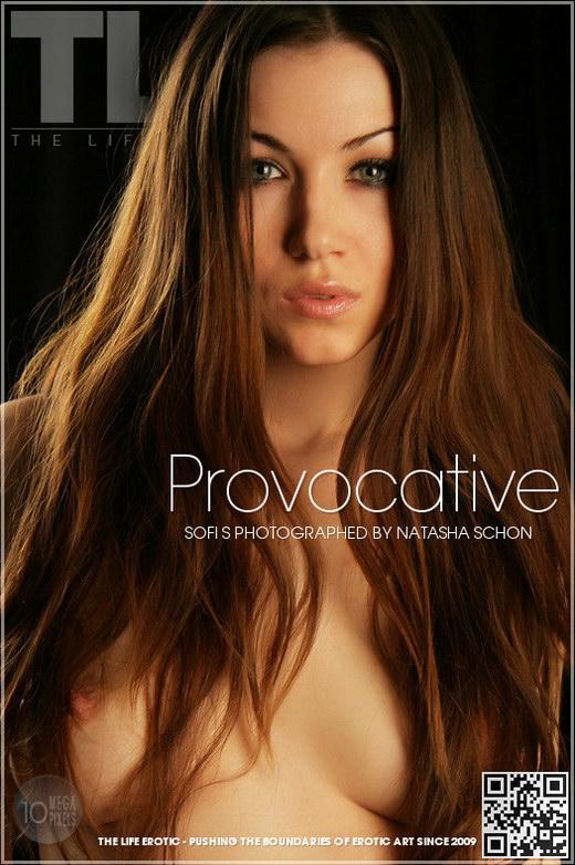 Sofi S - `Provocative` - by Natasha Schon for THELIFEEROTIC