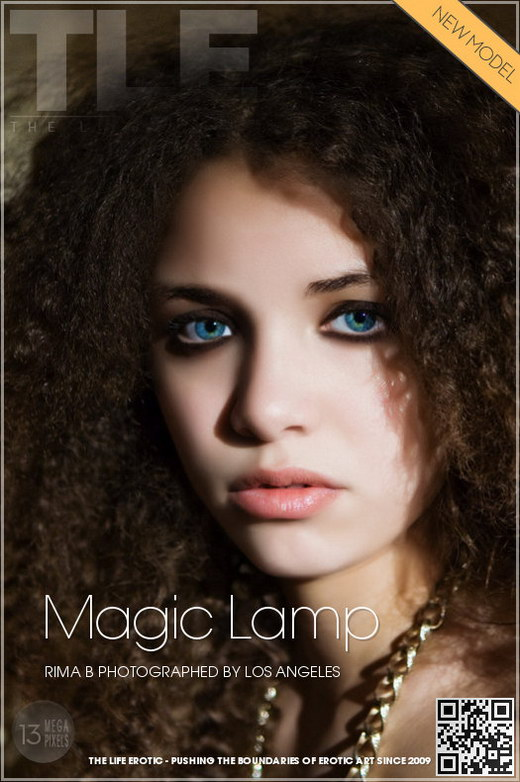 Rima B - `Magic Lamp` - by Los Angeles for THELIFEEROTIC