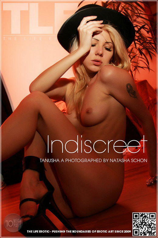 Tanusha A - `Indiscreet` - by Natasha Schon for THELIFEEROTIC