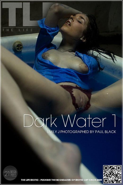 Emily J - `Dark Water 1` - by Paul Black for THELIFEEROTIC