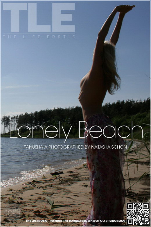 Tanusha A - `Lonely Beach` - by Natasha Schon for THELIFEEROTIC