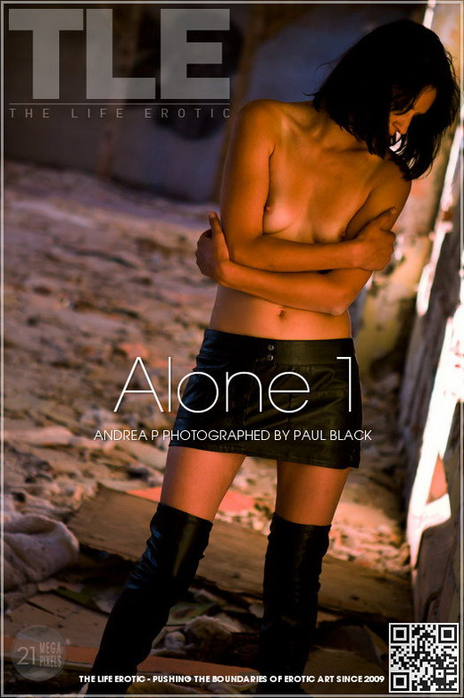 Andrea P - `Alone 1` - by Paul Black for THELIFEEROTIC