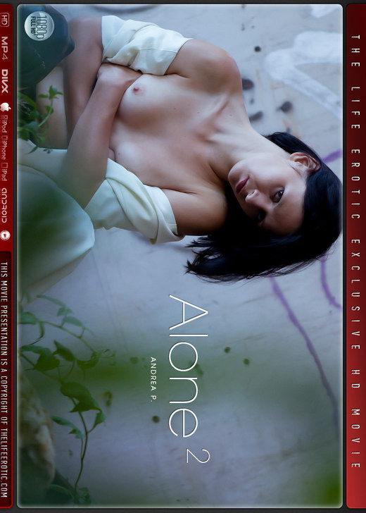 Andrea P - `Alone 2` - by Paul Black for THELIFEEROTIC