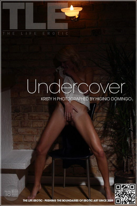 Kristy H - `Undercover` - by Higinio Domingo for THELIFEEROTIC