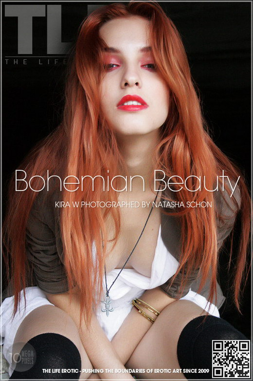 Kira W - `Bohemian Beauty` - by Natasha Schon for THELIFEEROTIC